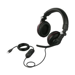 オーディオ ヘッドホン・イヤホン 関連 ゲーミングヘッドセット 両耳ヘッドバンド式 5.1chサラウンドシステム ブラック BSHSUH05BK