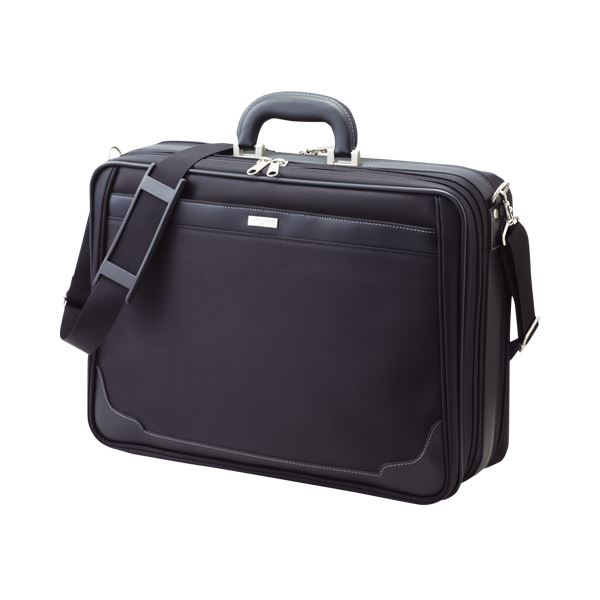 インテリア・寝具・収納 収納家具 関連 日用雑貨 便利 ソフトアタッシュケース CR-AT200-B 黒 1個