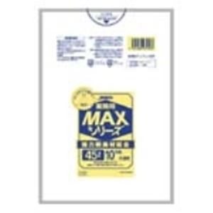 掃除用具 関連 (まとめ買い)ジャパックス MAXゴミ袋 S-53 半透明 45L 10枚 【×200セット】