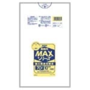 日用雑貨 (まとめ買い)ジャパックス MAXゴミ袋 S-73 半透明 70L 10枚 【×20セット】