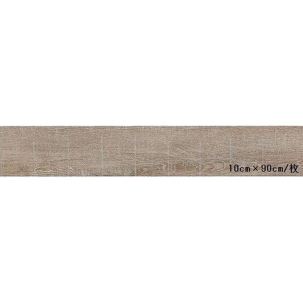 インテリア・寝具・収納 関連 東リ ビニル床タイル ロイヤルウッド 木目調 15cm×90cm (四面R面取) 色 PWT506 ラスティックラフソーン 20枚セット【日本製】