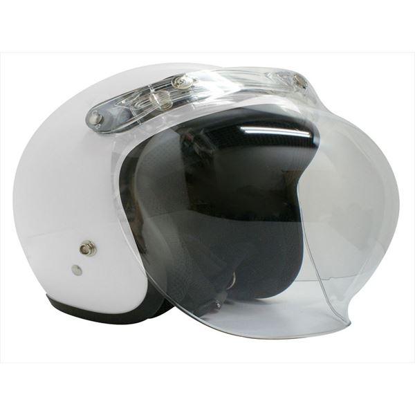 ダムトラックス(DAMMTRAX) ジェットヘルメット ビッグボーイ マックス パールホワイト スーパービッグサイズ(~62cm)