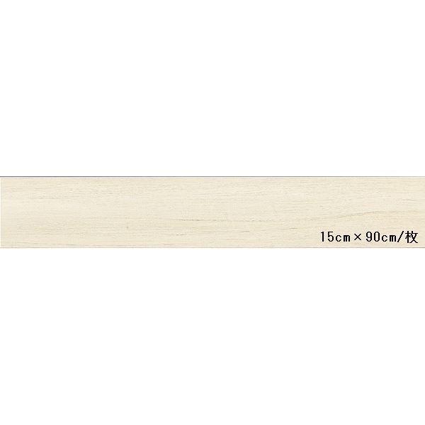インテリア・寝具・収納 関連 東リ ビニル床タイル ロイヤルウッド 木目調 15cm×90cm (四面R面取) 色 PWT511 ベネチアンチーク 20枚セット【日本製】