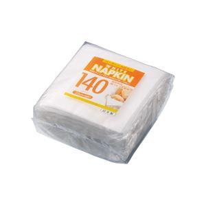 (まとめ)WBホワイトナプキン 25cm 140枚入×100パック