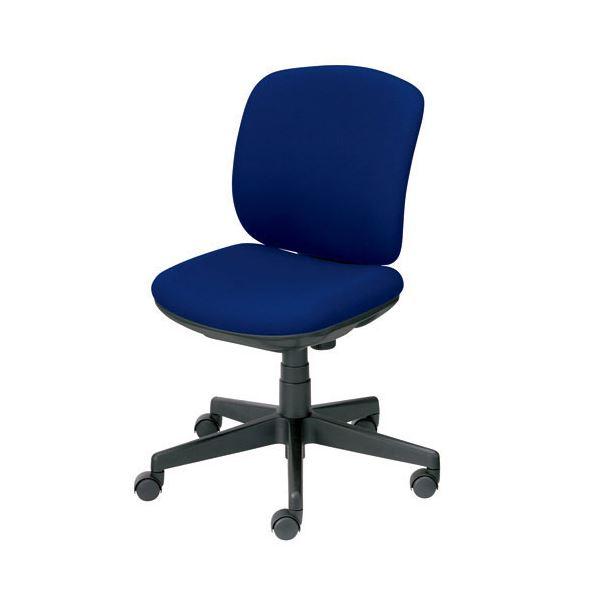 オフィス家具 オフィスチェア 高機能チェア 関連 プラス 事務イス(オフィスチェア/OAチェア) プリセア KC-K56SL 肘なし BL