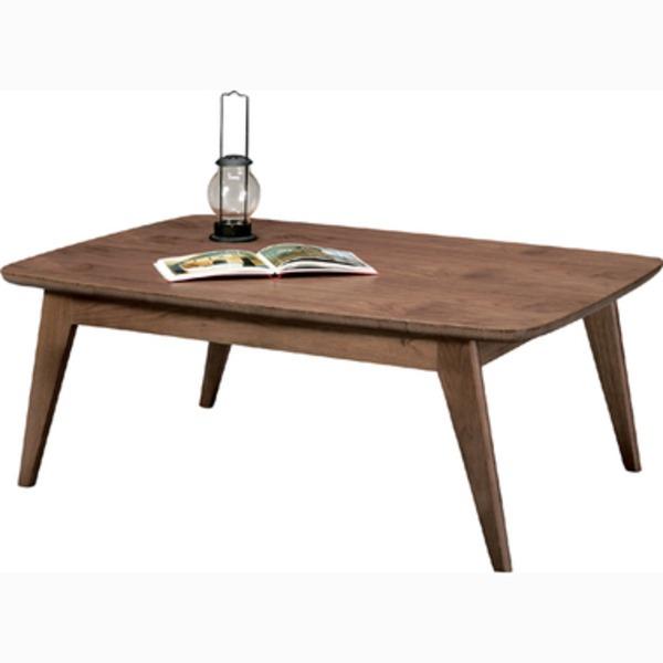 生活用品・インテリア・雑貨 東谷(AZUMAYA) コタツテーブル Kenny(ケニー) 長方形(105×75cm) Kenny105WALN