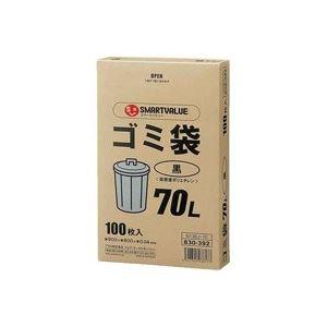 日用雑貨 (まとめ買い)ジョインテックス ゴミ袋LDD黒70L 100枚 N138J-70 【×3セット】