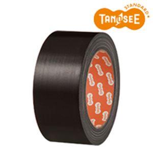 便利 日用雑貨 (まとめ買い)布テープ 50mm×25m 黒 30巻