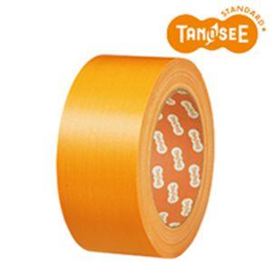 日用品雑貨 便利グッズ (まとめ買い)布テープ 50mm×25m 黄 30巻