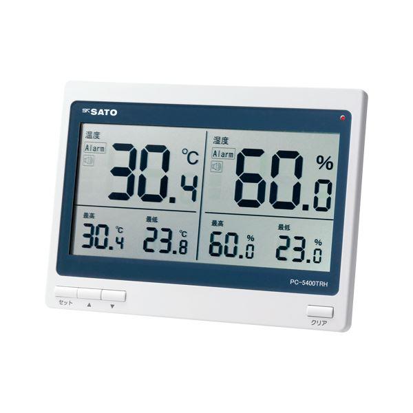 佐藤計量器 デジタル温湿度計 PC-5400TRH 1個