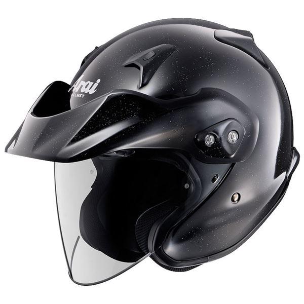バイク用品 アライ(ARAI) ジェットヘルメット CT-Z グラスブラック XL 61-62cm