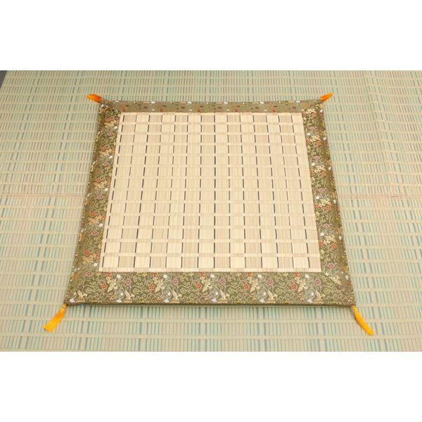 純国産 掛川織 い草御前(仏前)座布団 『松川』 約70×70cm