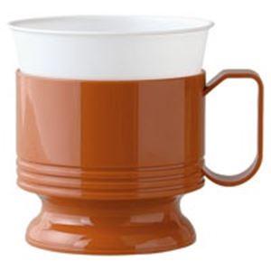 キッチン・食器 (まとめ買い)日本デキシー インサートカップホルダー 茶 5個 【×10セット】