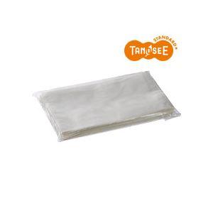 (まとめ)TANOSEE デリバリーパック 透明 長4 100枚入×5パック