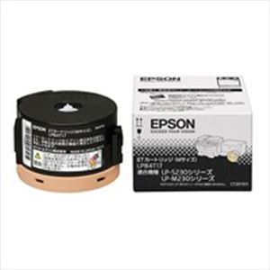 パソコン・周辺機器 【純正品】 EPSON(エプソン) ETトナーカートリッジ ブラック LPB4T17
