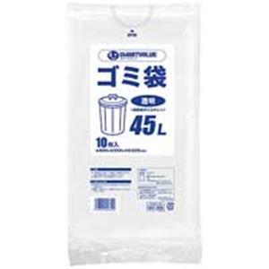 掃除用具 関連 ジョインテックス ゴミ袋 LDD 透明 45L 600枚 N208J-45P