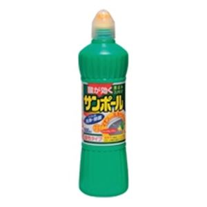 トイレ用品 (まとめ買い)大日本除蟲菊 サンポール ノズル付 500ml 【×30セット】