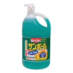 トイレ用品 携帯用洗浄機 関連 (まとめ買い)大日本除蟲菊 サンポール 業務用 5L 【×20セット】