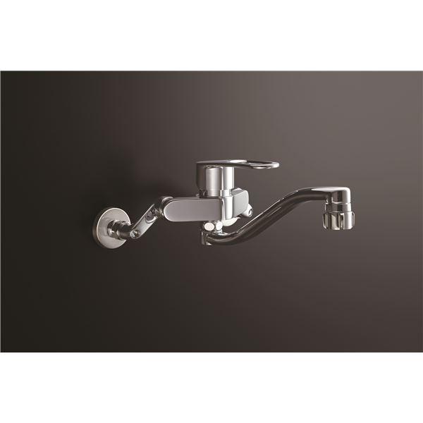 木材・建築資材・設備 キッチン用設備 キッチン用水栓金具 関連 LIXIL(リクシル) キッチンシャワー付シングルレバー混合水栓(回せるもんタイプ) RSF-863YBZ