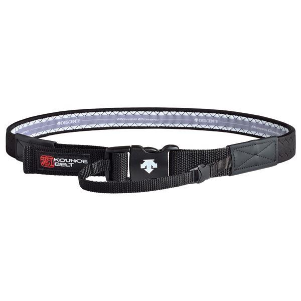 スポーツ・レジャー デサント(DESCENTE) Kounoe Belt 鴻江ベルト 骨盤用 1000 ライトタイプ DAT8101 ブラック S