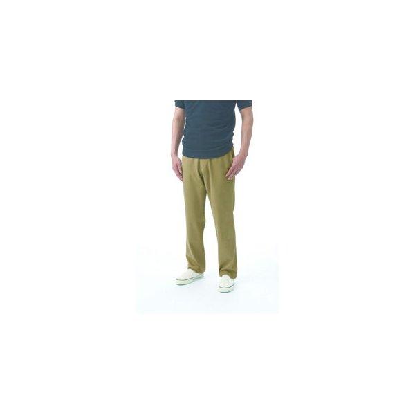 キッズ ボトムス パンツ 関連 【メンズ/パンツ/ビジカジ】カーキトラウザーズ 36(92cm)