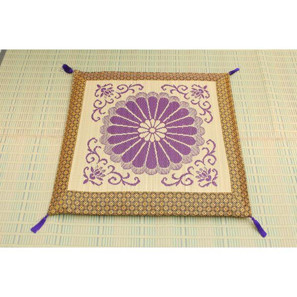 純国産 袋織 い草御前(仏前)座布団 『三千院』 約70×70cm