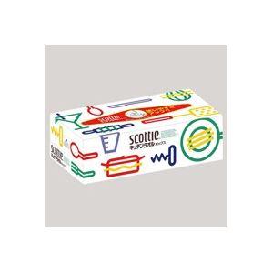 キッチン・食器 (まとめ買い)日本製紙クレシア スコッティ キッチンタオル ボックス 【×50セット】