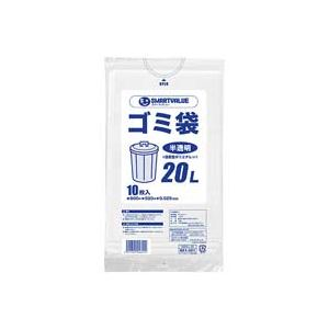 日用雑貨 (まとめ買い)ジョインテックス ゴミ袋 LDD 半透明 20L 10枚 N209J-20 【×50セット】