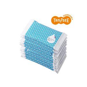 (まとめ)TANOSEE ウェットティッシュ 10個入×10パック