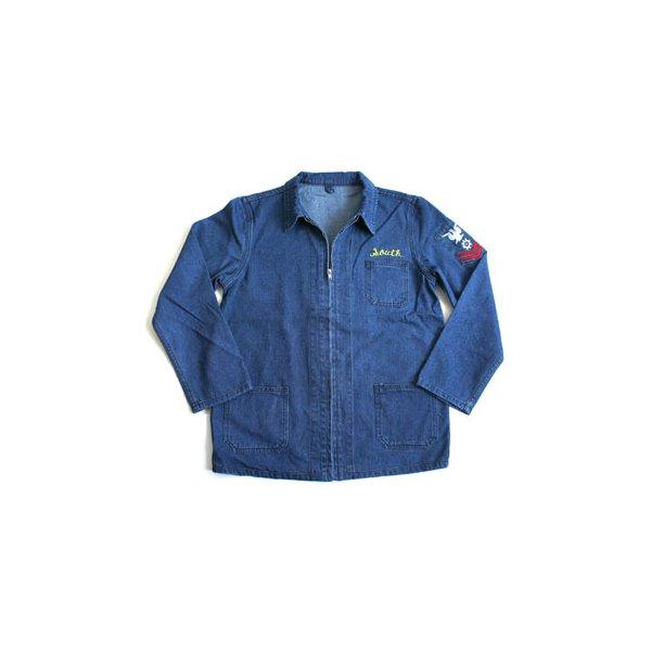 アメリカ軍 デニムスーペニアジャケット JJ151YNEM デニム刺繍 40(L)【レプリカ】