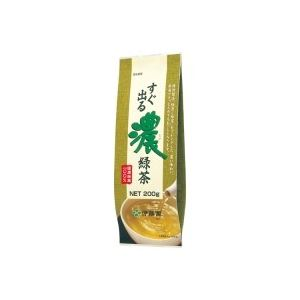 水・飲料 お茶・紅茶 茶葉・ティーバッグ 日本茶 関連 (まとめ買い)伊藤園 すぐ出る濃緑茶200g 【×30セット】