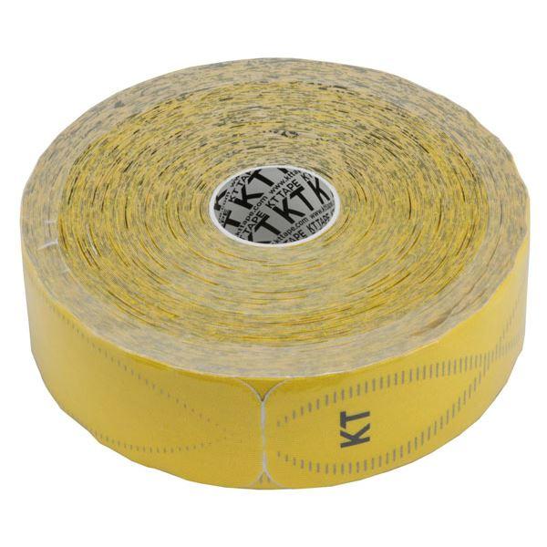 テーピング 関連商品 KT TAPE PRO(KTテーププロ) ジャンボロールタイプ(150枚入り) KTJR12600 イエロー (キネシオロジーテープ テーピング)