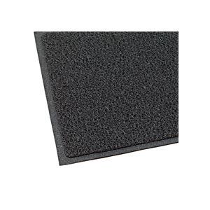 日用品雑貨 玄関マット ケミタングルソフト 屋外用 ブラック 900×1800mm