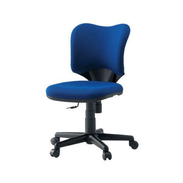 オフィス家具 オフィスチェア 高機能チェア 関連 プラス 事務イス(オフィスチェア/OAチェア) プロップ肘なし KC-A92SL BL