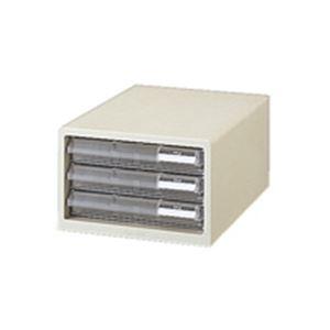 インテリア・寝具・収納 オフィス家具 関連 (まとめ買い)プラス レターケース LC-103A A4 浅3 ホワイト 【×2セット】