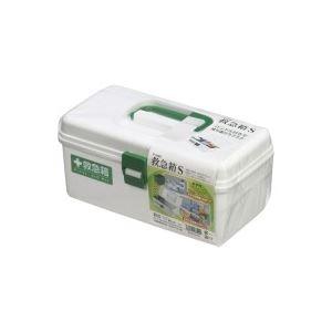 衛生用品 (まとめ買い)不動技研 救急箱 S ホワイト F-2485 【×5セット】