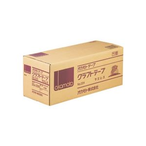 (まとめ)クラフトテープラミレス No.224 50mm×50m 50巻