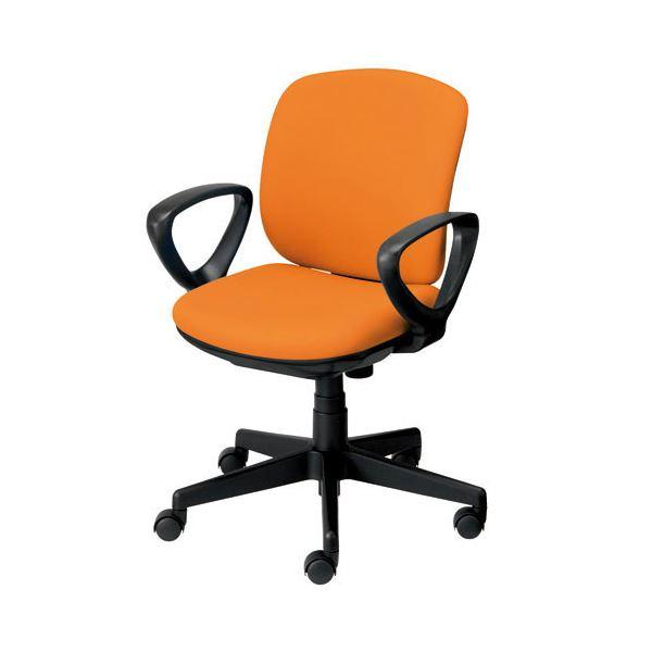 オフィス家具 オフィスチェア 高機能チェア 関連 プラス 事務イス(オフィスチェア/OAチェア) プリセア KB-K56SL 肘付 OR
