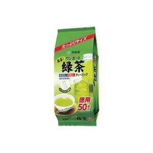 お茶・紅茶 (まとめ買い)伊藤園 ワンポット緑茶ティーバッグ50袋 【×40セット】