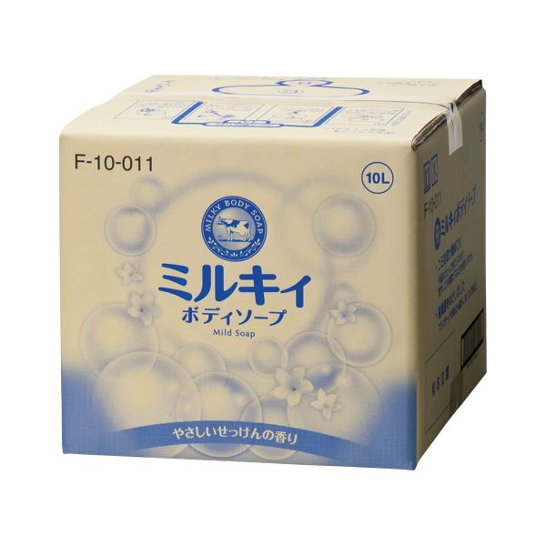 日用品雑貨・文房具・手芸 関連 牛乳石鹸 ミルキィボディソープ ミルキィボディソープ 業務用 1個