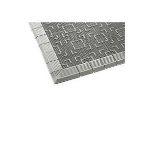 生活用品・インテリア・雑貨 屋外用マット テラロイヤルマット 灰 600×900mm
