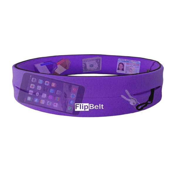 スポーツ用品 関連商品 FlipBelt ( フリップベルト ) スポーツウエストポーチ バイオレット XS