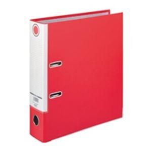 文具・オフィス用品 生活日用品 雑貨 アーチファイル SGLAF8 A4S 80mm 赤 10冊