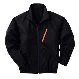 空調服 ポリエステル製長袖ブルゾン P-500BN 【カラー:ブラック  サイズ LL】