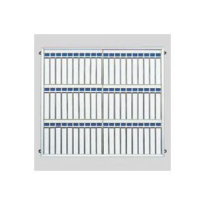 文具・オフィス用品 クラウン 名札掛 アルミ枠付 CR-NF600K-AL 1個