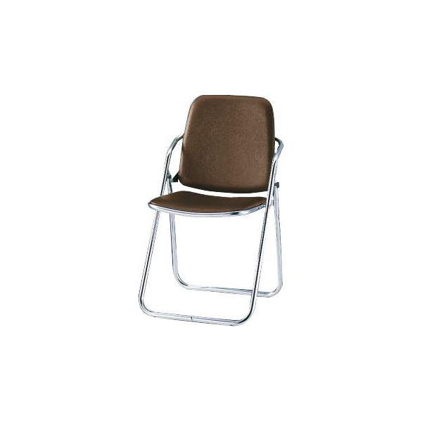 オフィス家具 オフィスチェア 会議用チェア 関連 折りたたみイス No.334P ブラウン