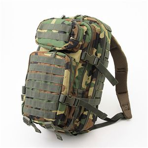 バッグ 男女兼用バッグ 関連 アメリカ軍 防水突撃部隊 多機能リュック ウッドランドカモ