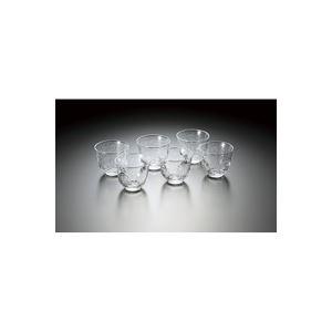 キッチン用品・食器・調理器具 関連 (まとめ買い)佐々木硝子 冷茶グラス[生活の器]6個セットB-03161-6 【×8セット】