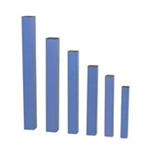 文房具・事務用品 製図用品 関連 (まとめ買い)ドラパス 角型紙筒 85×765mm 81-124 【×2セット】