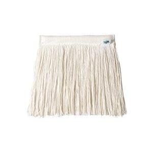 (まとめ買い)テラモト FXメッシュモップ替糸ホワイトCL-374-521-8 【×10セット】